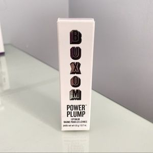 New Buxom power full lip plump lip balm sheer pink